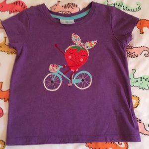Hanna Andersson strawberry tshirt